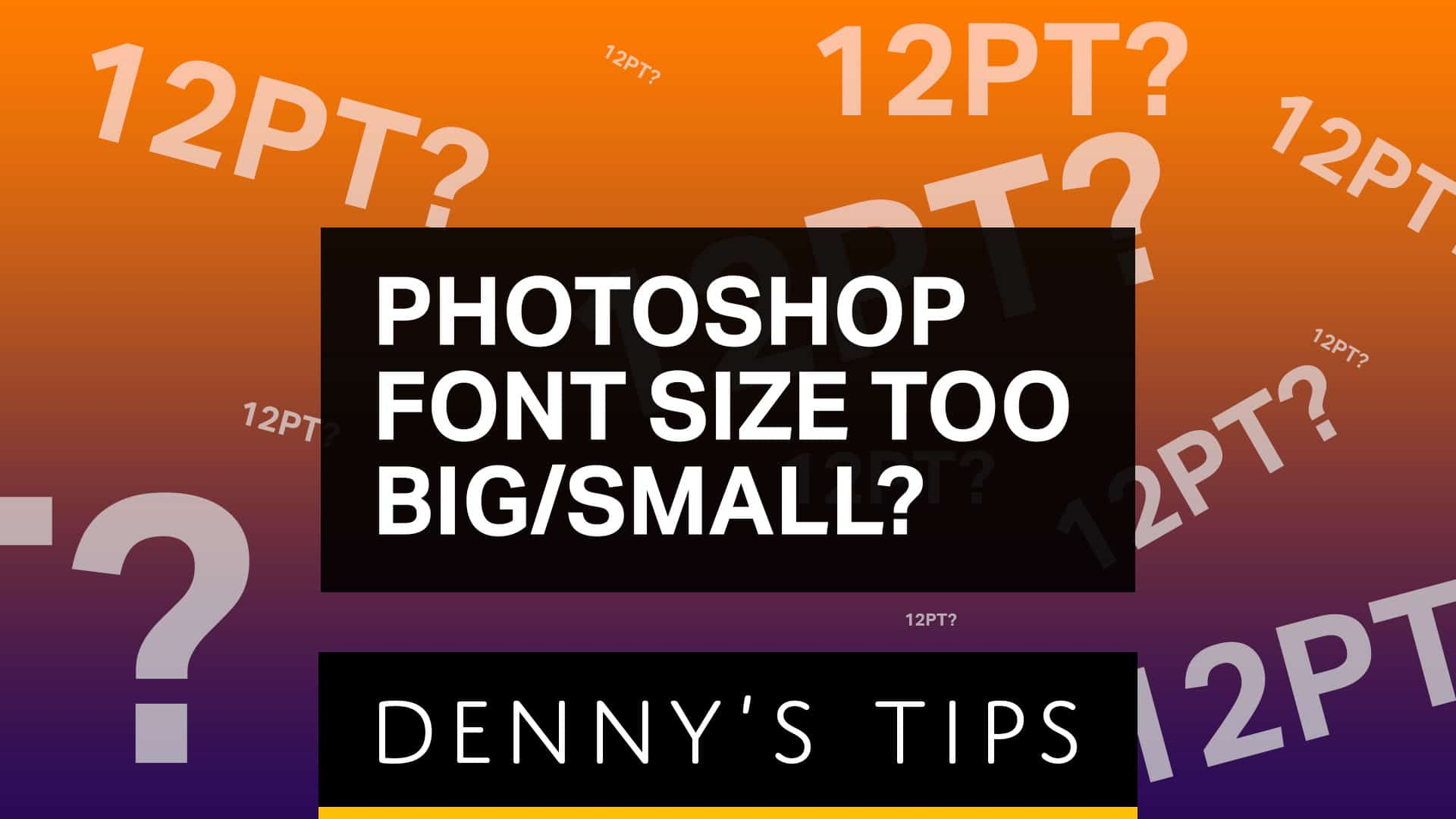 Why is the Font so Big or Small in Photoshop?