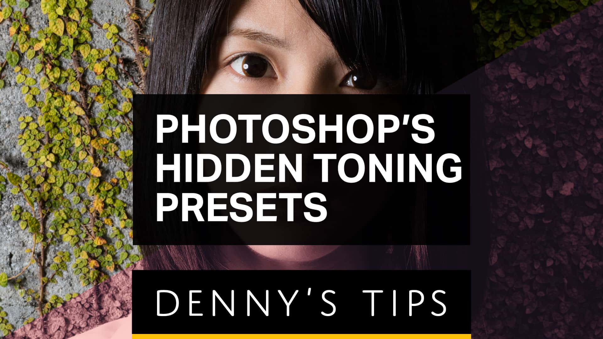 Photoshop Hidden Gem: 39 Photographic Toning Presets